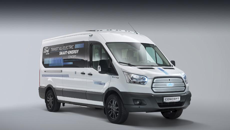 Теплый Концепт Ford Transit Smart Energy
