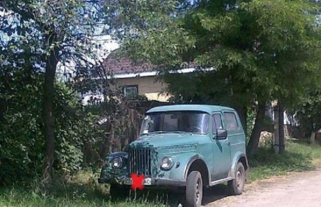 Тюнинговый ГАЗ-69
