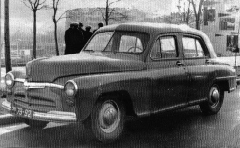 Уникальная «Победа» в кузове седан - Автопром СССР