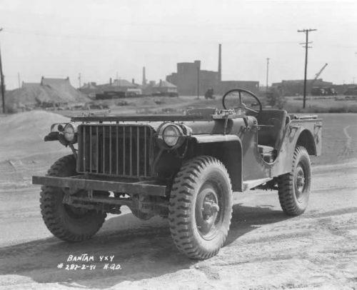 Willys MB - первый джип по ленд-лизу