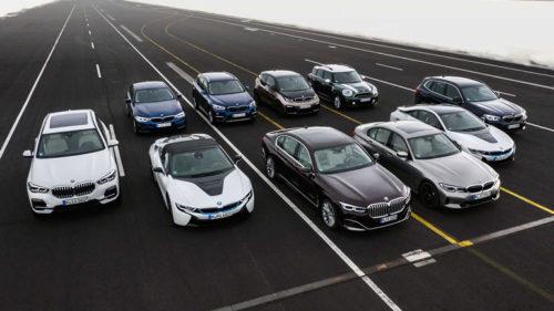 25 гибридных моделей BMW к 2025 году
