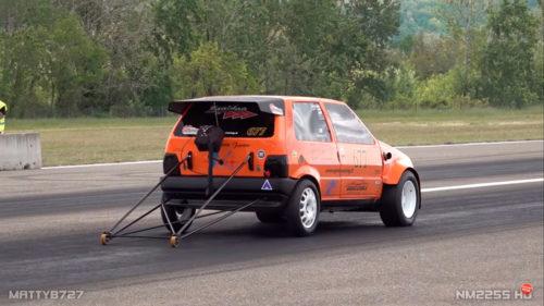 600-сильный монстр из маленького Fiat Uno