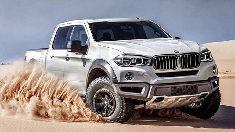 BMW  отказалась от собственного пикапа