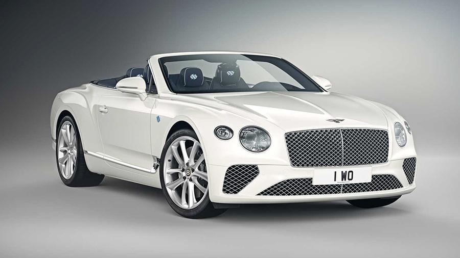 Bentley Continental GT - уникальный кабриолет