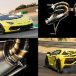 Бывший пилот оснастил Lamborghini Aventador SVJ с новой выхлопной системой