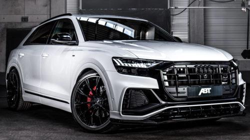 Доработанный Audi Q8