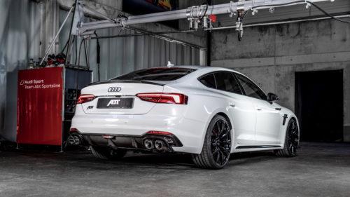 Доработанный лифтбек Audi RS5 Sportback
