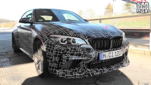 Экстремальное купе BMW M2 CS