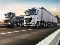 Ежегодное ограничение для большегрузных грузовиков