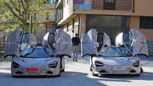 Гибридная версия суперкара McLaren 720S