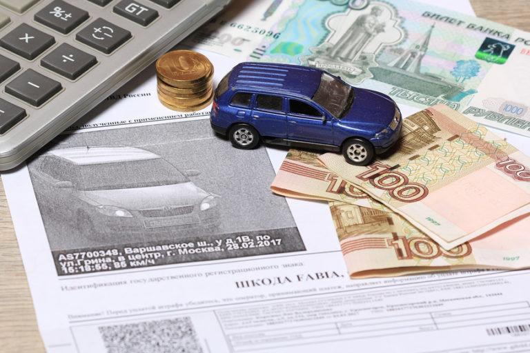 К цене авто хотят привязать штраф за скорость