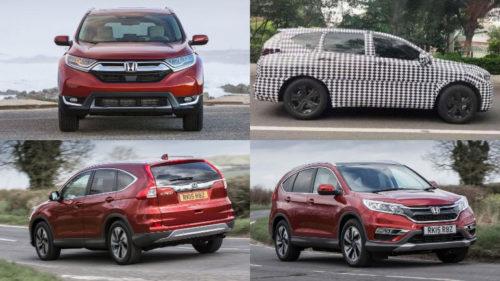 Кроссовер Honda CR-V меняет имя и дизайн