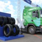 Michelin -теперь энергосберегающие грузовые шины