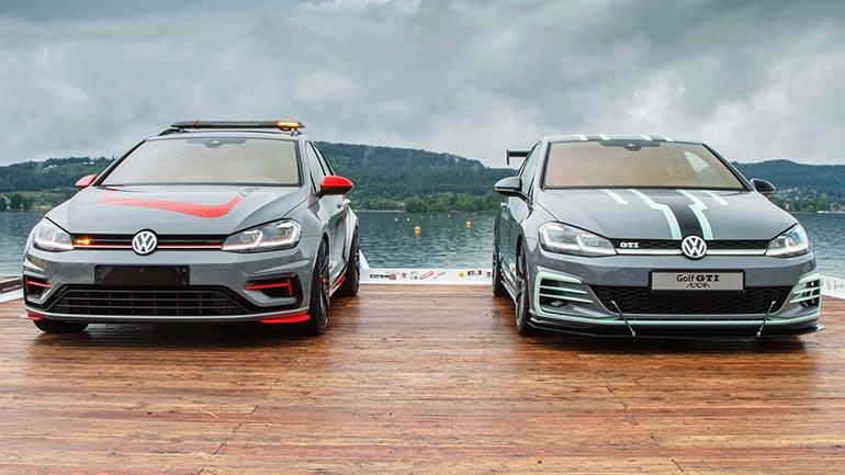 Мощные модели VW Golf