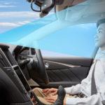 Nissan Skyline  ездит без рук на руле