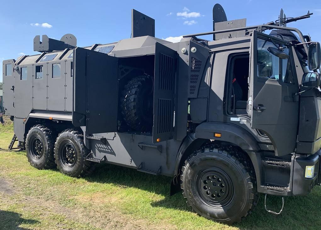 Новый бронеавтомобиль на базе КАМАЗа - «Горец-ССН»
