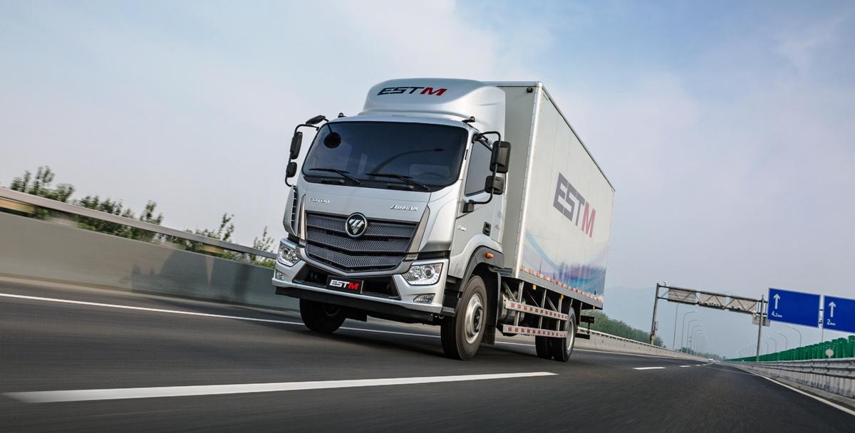 Новый грузовичок Foton