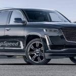 Обновленный внедорожник Cadillac  Escalade