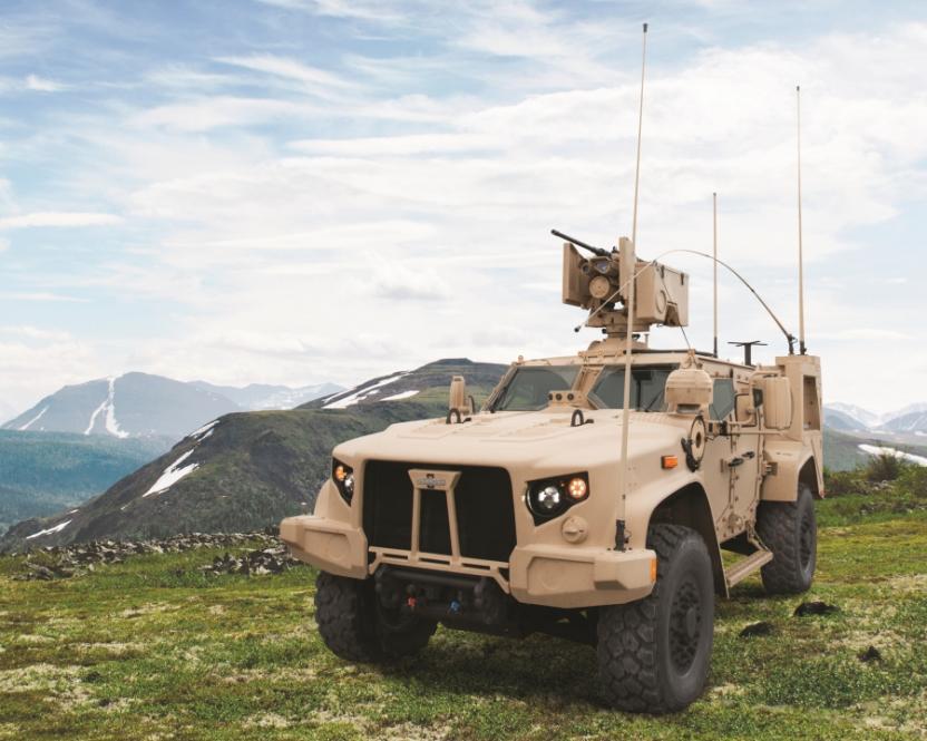 Пентагон признал непригодными новейшие броневики Oshkosh