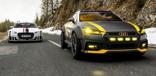 Презентация внедорожного Audi TT