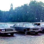 Советские легковые автомобили с двигателем V8