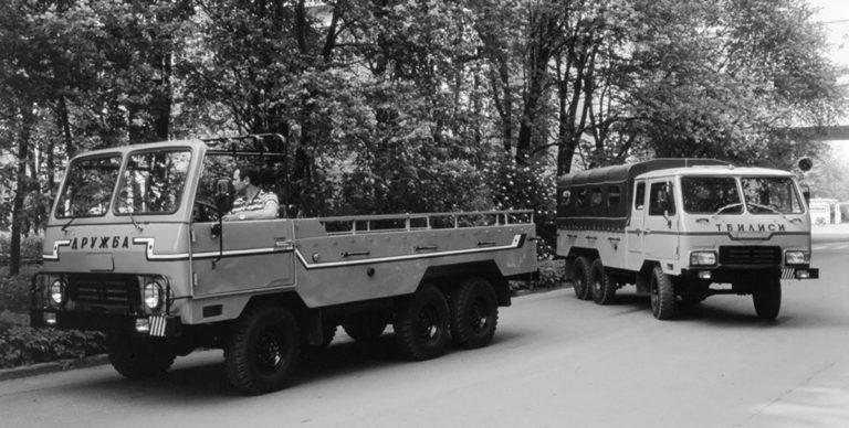 Советский автопром: - Грузинский вездеход «Тбилиси»