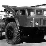 Советский секретный тягач МАЗ 532 с двумя функциями