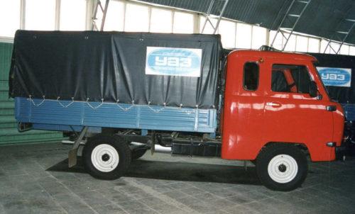Уникальный УАЗ «Головастик» для дальнобойщиков