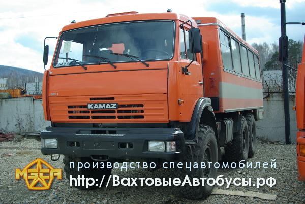 Вахтовый автобус из сэндвич панелей НЕФАЗ 4208-25