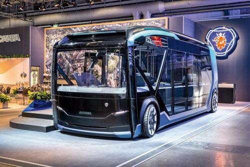 Автобус-беспилотник Scania NXT