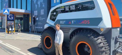 Беспилотный автобус-вездеход Volgabus