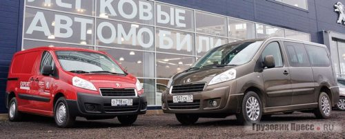 Фургон Peugeot грузовой и пассажирский