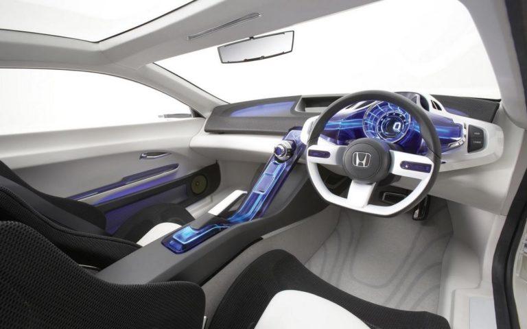 Интерьер авто будущего