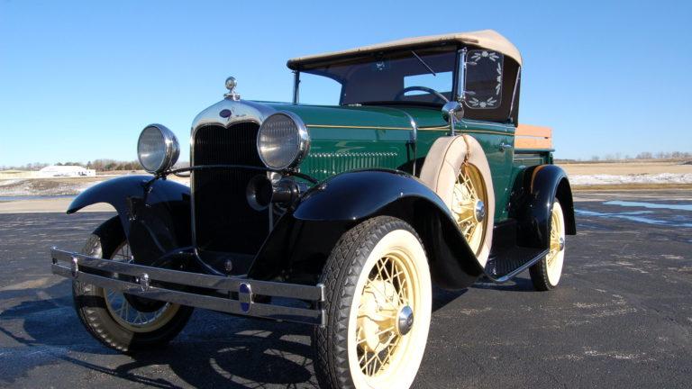 История автомобилей Ford-A и ГАЗ-А 30-ых г.