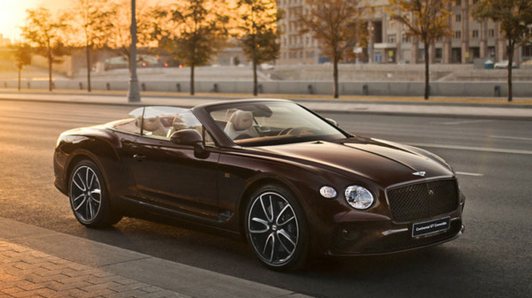 Кабриолет Bentley Continental GT