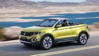 Кабриолет Volkswagen T-Roc