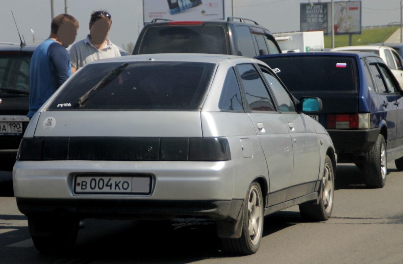 Какие госномера не в чести у российских водителей