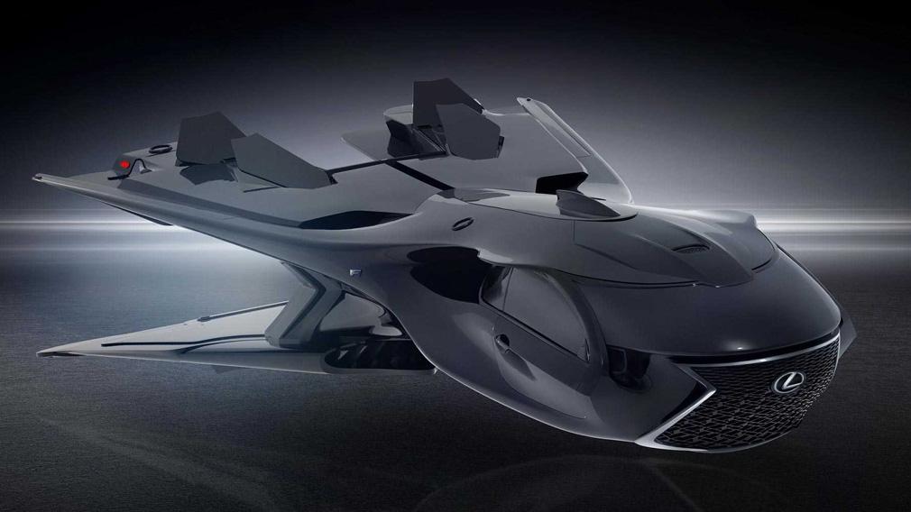 Летающий Lexus для спецагентов