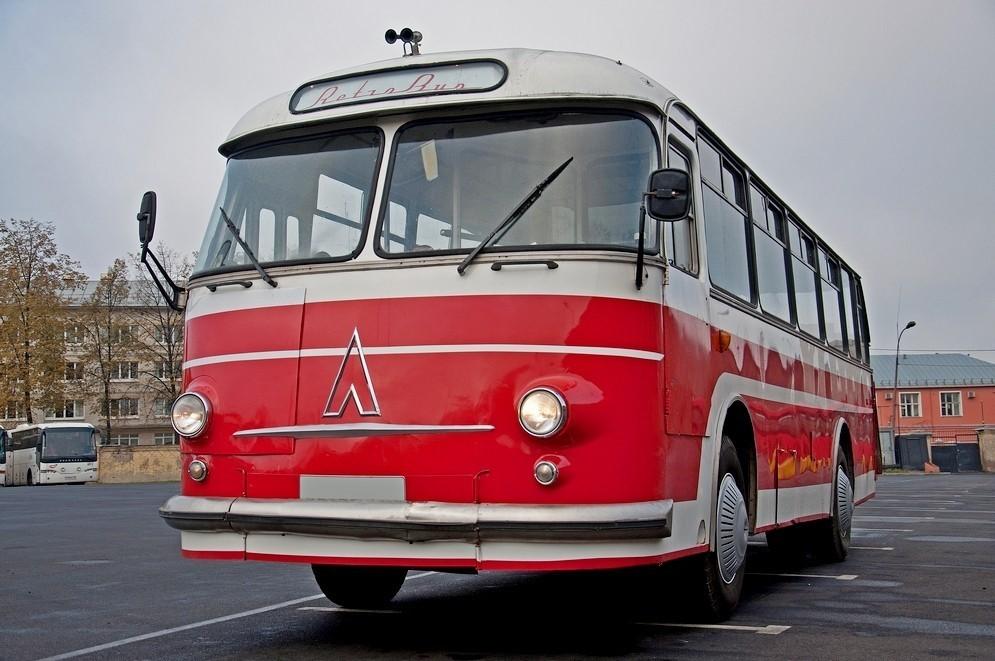 Масштабированный автобус ЛАЗ-695Е «Львов»