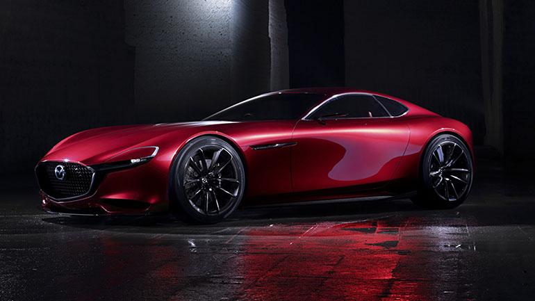 Mazda с роторным двигателем и турбонаддувом