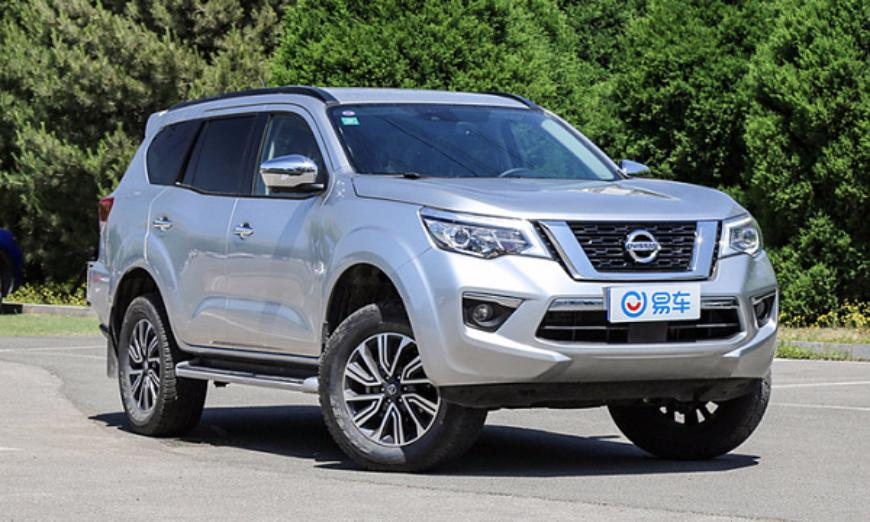 Nissan Terra уступает Toyota Land Cruiser Prado