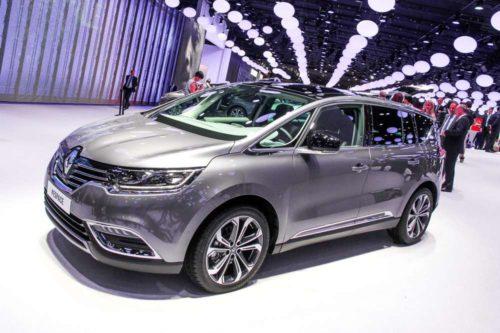 Новое поколение минивэна Renault Espace
