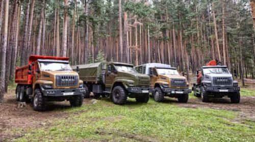 Новые грузовики Урал скоро