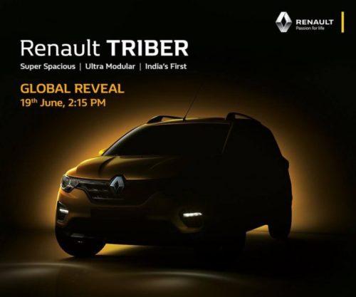 Новый кросс-вэн Renault Triber
