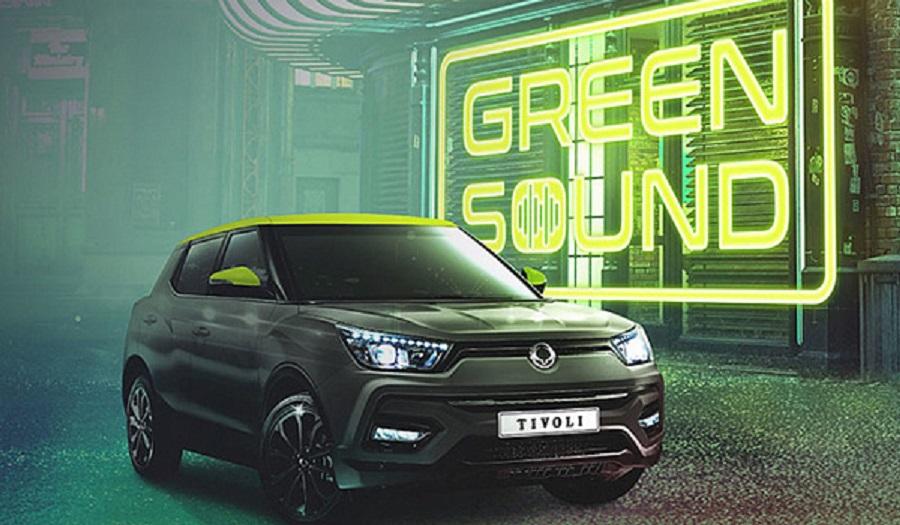 Новый паркетник SsangYong Tivoli Green Sound