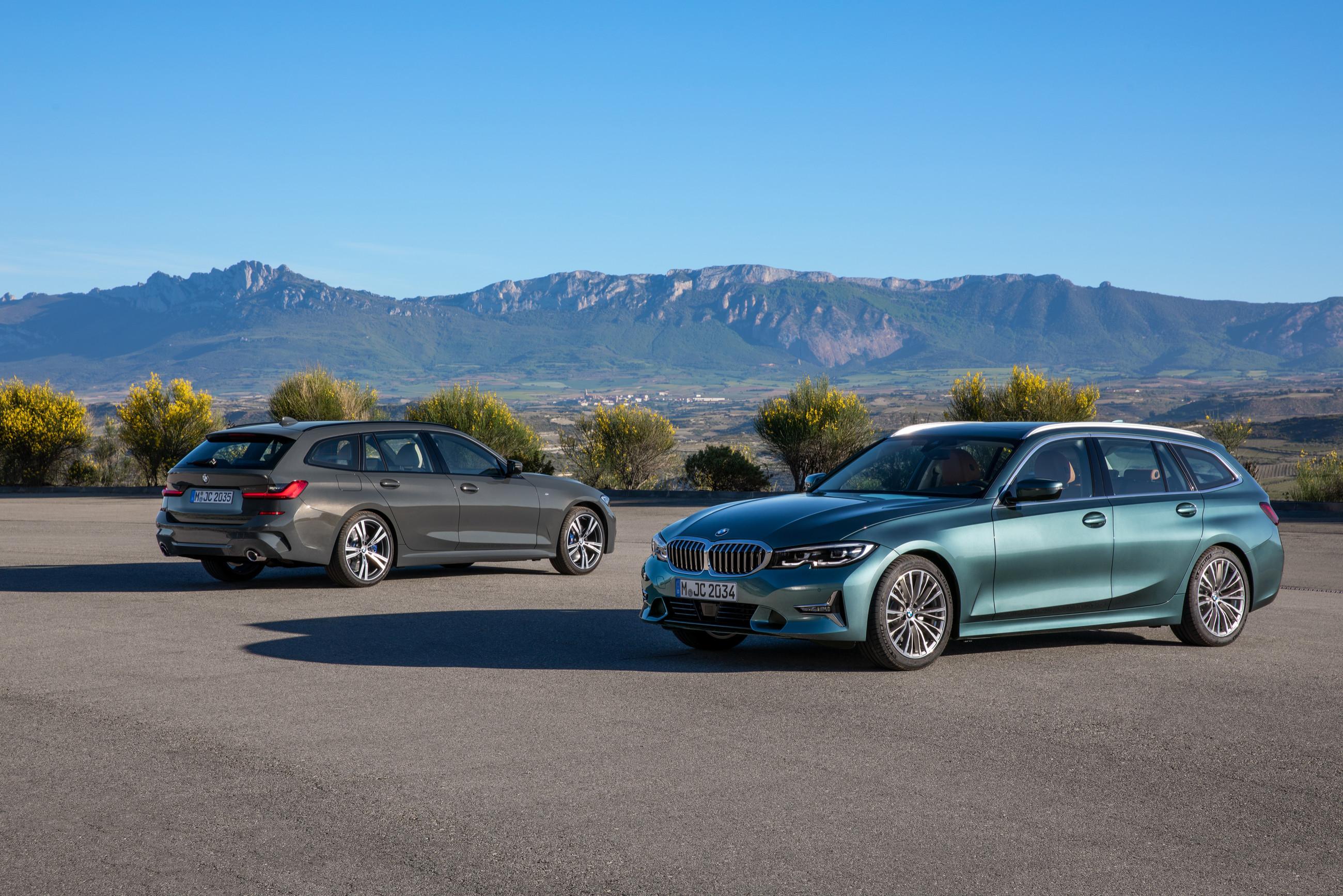 Новый универсал BMW 3-й серии