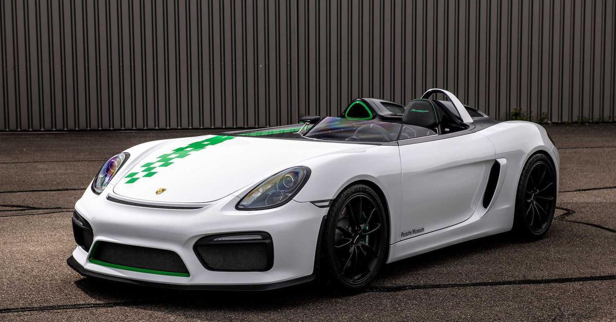 Одноместный Porsche в серию не пошел