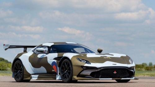 Особый Aston Martin Vulcan для гонок