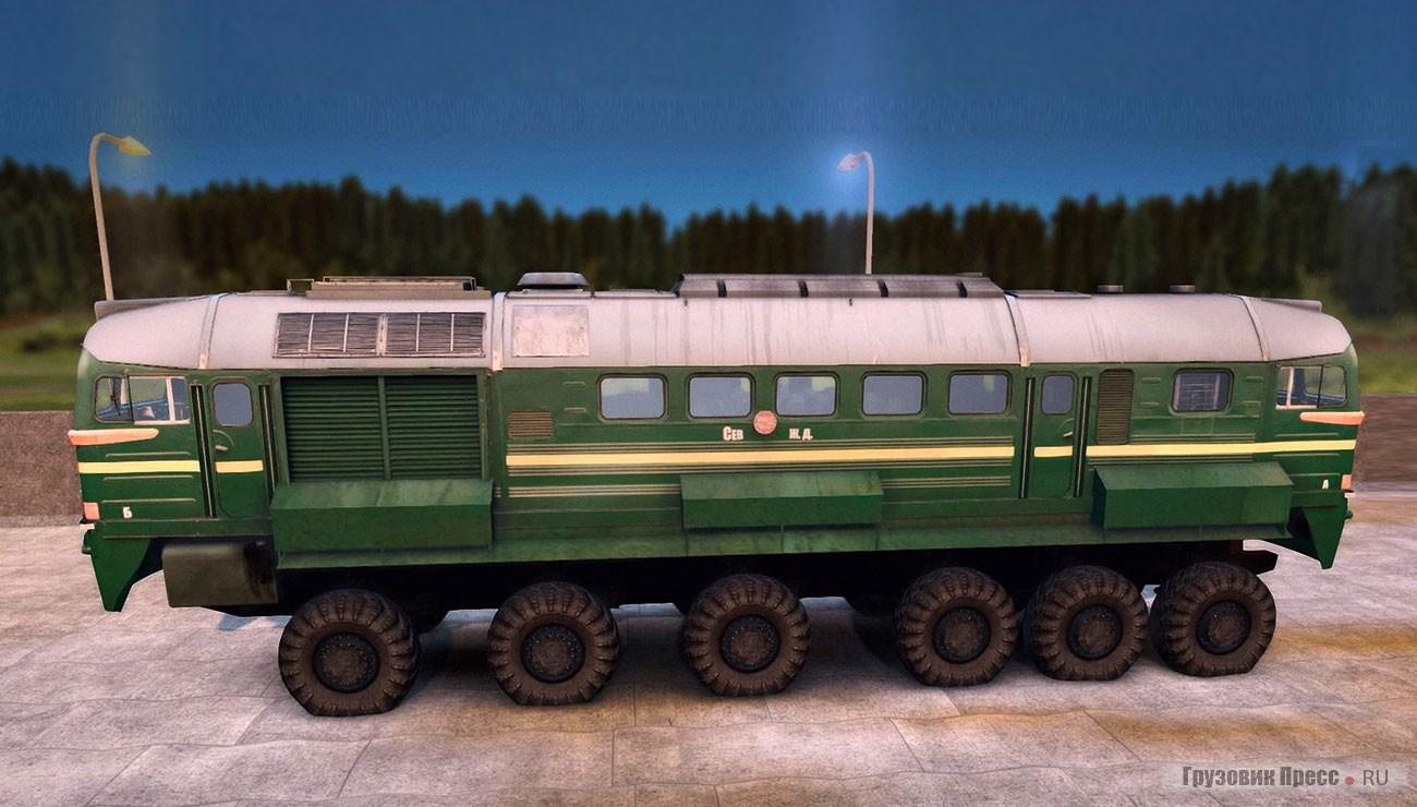 Паровой автомобиль Loco Hauk
