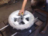 Покраска колесных дисков самостоятельно